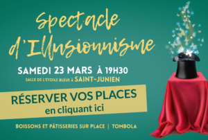 spectacle magie papillons montessori